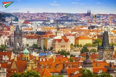 """Prague is also known as the """"city of a hundred spires"""" and we can definitely tell why! #LetsTravel..."""