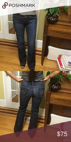 AG Adriano gold Schmied jeans Worn 1 AG Adriano Goldschmied Jeans Boot Cut