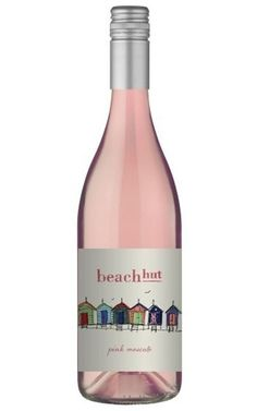 Beach Hut Pink Moscato 2018 Mudgee - 12 Bottles Low Alcohol Wine, Pink Moscato, White Wines, Grape Juice, Tropical Fruits, Wine Tasting, Bottles, Rose, Beach