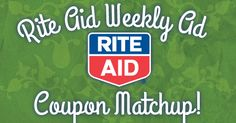 Rite Aid Weekly Ad Coupon Match Up (9/28-10/4)