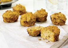 Turkey Flaxseed Muffins #fitfluential #EAT via Oxygen Magazine