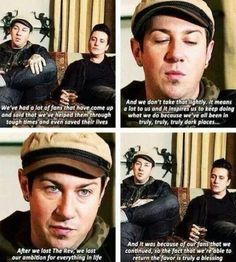 And this is one of the reasons why I love Avenged Sevenfold.