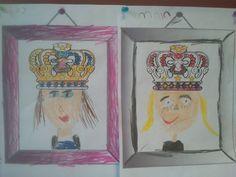 Teken jezelf als koning of koningin