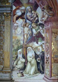 Siena, Saint Dominic, Toscana, Saints, Spirituality, Painting, Image, Caterina, Santo Domingo