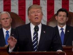 Primeiro discurso de Trump no Congresso tem tom mais moderado