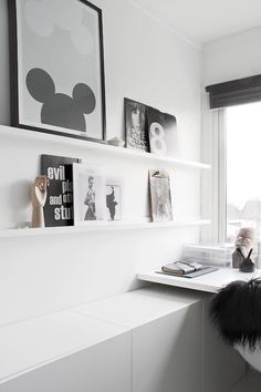 Minimalist shelves
