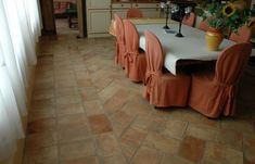 Antique Flooring and Tiles French Country Kitchens, French Kitchen, Country French, Terracotta Floor, Limestone Tile, Natural Stone Flooring, Woman Cave, Kitchen Flooring, Tile Flooring