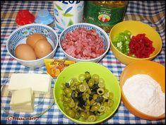 Chec aperitiv cu de toate - Retetele mamei Quiche, Food Art, Bacon, Food And Drink, Cookies, Chicken, Diy, Crafts, Oven