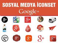 Bundan sonraki icon paylaşımlarım set halinde olacak arkadaşlar. Google Plus (+) icon set paylaşımımızı yandisk bağlantımızdan...