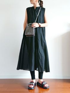 Natural Clothing, Fasion, Fashion Models, Summer Outfits, Normcore, One Piece, Black And White, Clothes For Women, My Style