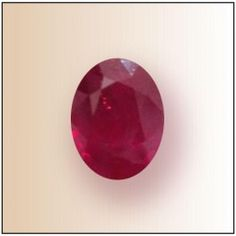 Indian Ruby - 9-11 carats