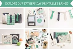 FREE Printable Fathers Day Book ~ Tinyme