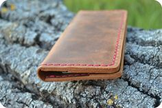 Free shipping Vintage leather wallet woman by CloverGoodLuck