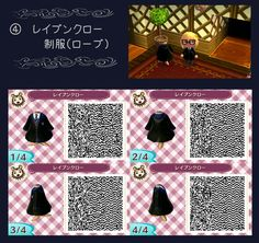 ACNL QR Code: Harry Potter Ravenclaw Robes