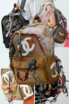 Chanel SS2014 3 bags .I am completely obsessed with these! How about you? #Chanel #backpack