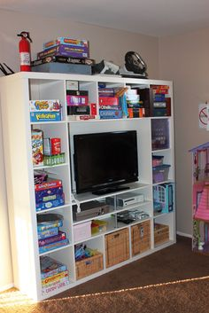 Game storage . . . video game and old school.
