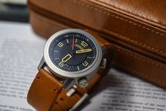 Power reserve complication in a robust military package.  #drakenwatches #adventuregear #militarygear #toolwatch