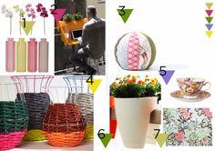 MOODboard _ consigli e suggerimenti di design. Pollice verde è il MOOD per chi sa prendersi cura dei suoi fiori