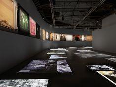 View of the Georges Didi-Huberman and Arno Gisinger show 'New Ghost Stories' (Nouvelles Histoires de fantômes) at Palais de Tokyo, Paris (photo by André Morin)