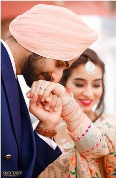 Gur Pre Wedding Poses, Wedding Couple Poses Photography, Couple Photoshoot Poses, Indian Wedding Photography, Pre Wedding Photoshoot, Couple Shoot, Wedding Portraits, Punjabi Wedding Couple, Punjabi Couple