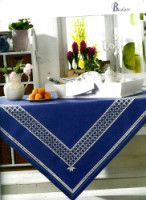"""Gallery.ru / Mur4a - Альбом """"28"""" Blue White Kitchens, Hardanger Embroidery, Needful Things, Kitchen Styling, New Kitchen, Blue And White, Album, Rugs, Gallery"""