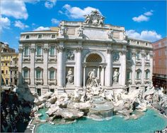 Trevi Fountain - Any picture of Rome will instantly make me homesick.