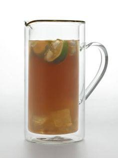 Italian Rum Punch Disaronno, Bacardi, Pineapple Juice, Orange Juice, and Limes.