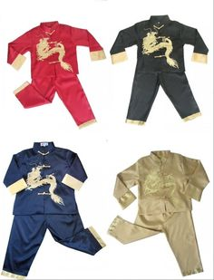 new boy s kid s clothes asian chinese mandarin kung fu costume coat suits