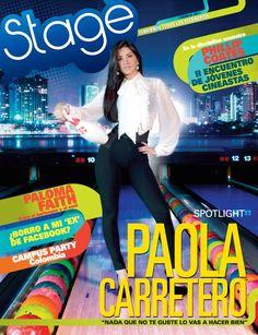 Paola en revista Stage