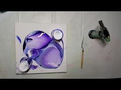 *Shows you exactly how your paint should be for a pour. 37 Acrylic Dirty Pour - Paradise - YouTube