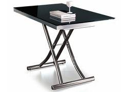 PLANET, mesa multifuncional (mesa de centro, escritorio, comedor), graduable a cualquier altura!