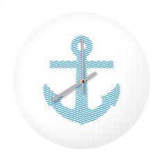 Ankr clock #Fimbis  #ArtRookie #anchor #waves #symmetry #style #styleblog #fashion #fashionblogger #fashionblog #styleblogger #home #blue #clock #time #homestyle #homedecor #ukdesign #irishdesign #irishart #fblogger #shapes #interiors #interiordesign #dormlife #nautical #sailing #kitchen