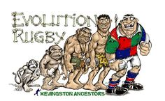 Kevingston evolution rugby Rugby Sport, All Blacks, Esports, Caricature, Team Logo, Screen Printing, Cartoon, Baseball Cards, Fictional Characters