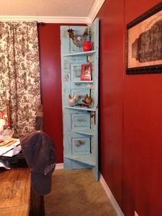 My old door shelf :)