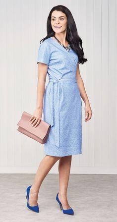 Clara Dress - Sew 111 June '18