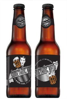 custom wedding beer labels