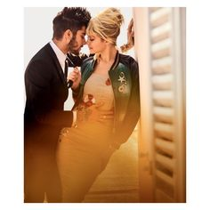 Zayn Malik Gigi Hadid Get Half Naked In Naples For 'Vogue' ❤ liked on Polyvore featuring backgrounds and fantasy background