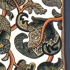 Textile (England), late 17th century