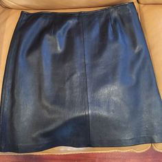 Style And Co leather skirt Style and Co leather skirt in great condition worn 3 times. Size 18. Style & Co Skirts High Low
