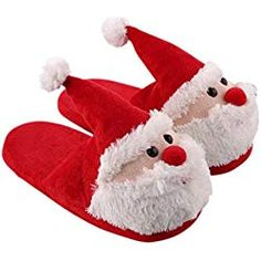 Cozy Christmas Santa Plush Slipper Memory Foam Non Slip Warm Household Slippers for Kids and Adults -- Check this awesome product by going to the link at the image. (This is an affiliate link) Happy Christmas Day, Christmas Pjs, Christmas Items, Best Christmas Gifts, Christmas Birthday, Birthday Gifts, Father Christmas, Christmas Outfits, Matching Family Christmas Pajamas