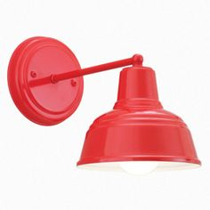 The Derby Mini Wall Light Red