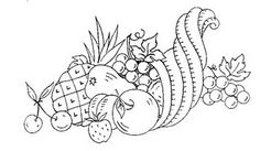 thanksgiving patterns cornucopia from http://www.kittyandmedesigns.blogspot.com/