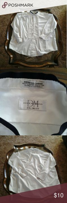 ■■SALE■■  Devin Michaels tuxedo shirt size XXL Devin Michaels tuxedo shirt size XXL 》BUNDLE  》OFFER  》ASK QUESTIONS  HAPPY TO HELP !!! Devin Michaels  Shirts Dress Shirts