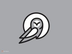 Owl III by George Bokhua on Dribbble.com