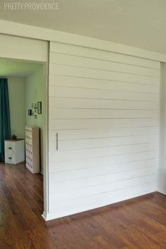 THE END!!! THIS IS THE FINAL FINAL W LINKS TO ALL MTLS - DIY Sliding Barn Door - this is actually an affordable way to do this!