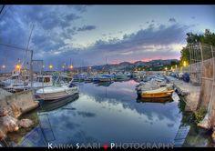 Marseille le port de l'estaque