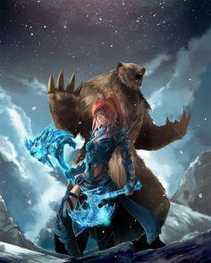 become the bear by chococat386.deviantart.com on @deviantART