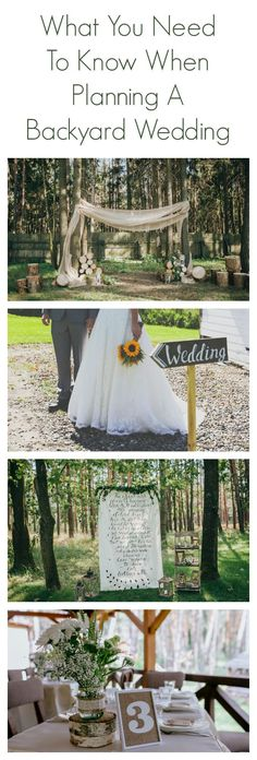 What You Need To Know When Planning A Backyard Wedding – Rustic Wedding Chic wedding checklist – Wedding İdeas Wedding Ceremony Ideas, Wedding Seating, Budget Wedding, Wedding Venues, Destination Wedding, Low Cost Wedding, Wedding Reception Locations, Wedding Ceremonies, Wedding Planning Tips