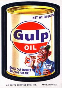 Wacky Packages.
