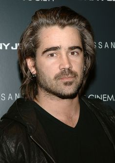 """Colin Farrell didn't like his """"Miami Vice"""" performance or the film either! Peter Vincent, Pin Man, Cool Hairstyles For Men, Star Wars, Miami Vice, Ben Barnes, Colin Farrell, Irish Men, Hair And Beard Styles"""